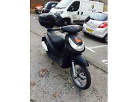 MATT BLACK PEUGEOT LOOXER 100cc RIDE AWAY £599