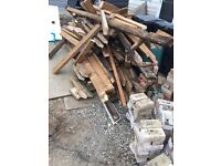 Fire wood for free 4x2 6x2 6x1 floor boards