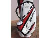 *PRICE REDUCED* VERY RARE MARVIN THE SHARK SRIXON GOLF BAG, 1 OF 50 EVER MADE!!!