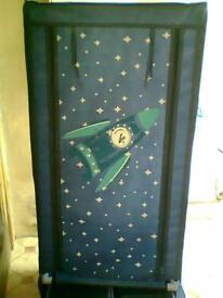 Rocket/Space themed Canvas Wardrobe