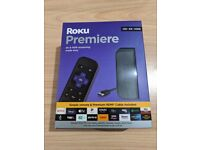 Roku Premiere HD, 4K & HDR Streaming - New sealed box with 6days old receipt