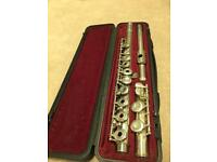 Yamaha yfl 261s open hole flute made in Japan