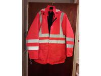 Hi vis jacket XL size