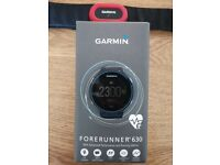 Garmin Forerunner 630 GPS Running Watch with Heart Rate Monitor