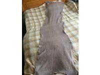 Mamas & Papas knitted nursing / breastfeeding cover, long scarf