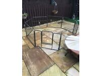 Large playpen for dog - good condition