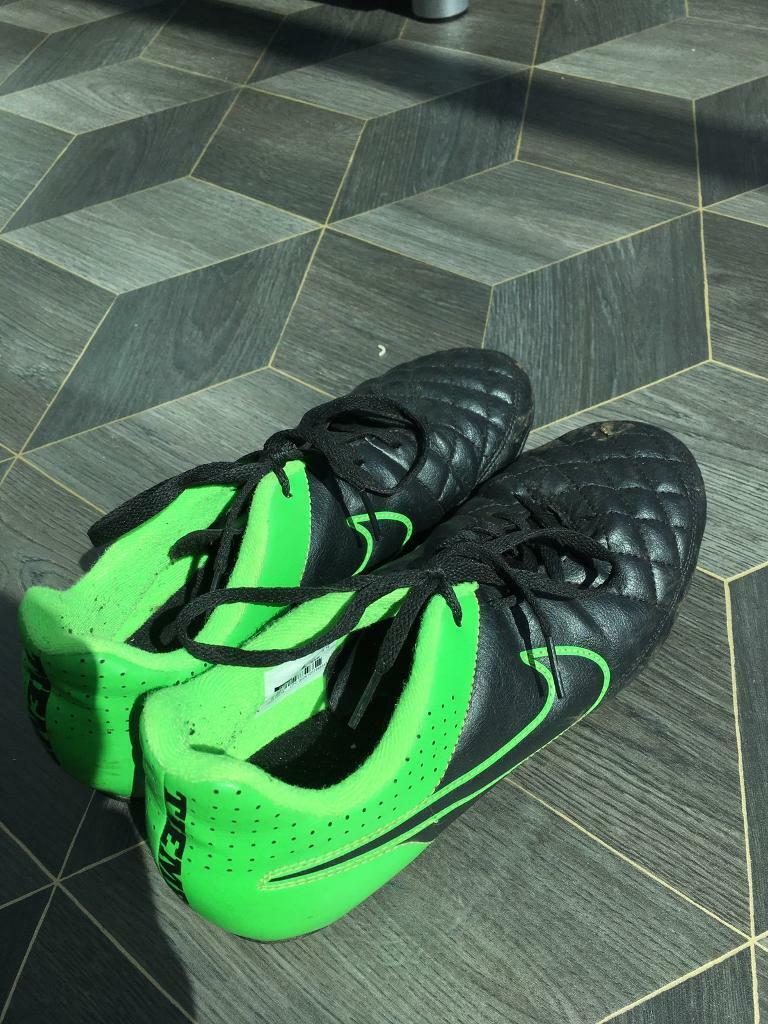 En segundo lugar Necesito Fraseología  Nike Tiempo size 5.5 | in Bradley Stoke, Bristol | Gumtree