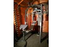 Marcy Platinum Smith machine multi gym with bench