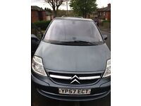 citroen c8 sx hdi 120 diesel 7 seater, low milage , full service history