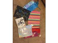 Few gift bags