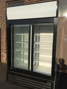 UPRIGHT 2 SLIDING GLASS DOOR FRIDGE, QUALITY COMMERCIAL EQUIPMENT