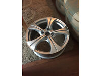 "BRAND NEW 309 405 406 coupe partner Saab 900 9000 Volvo 850 Alloy wheels 17"" inch alloys wheel"