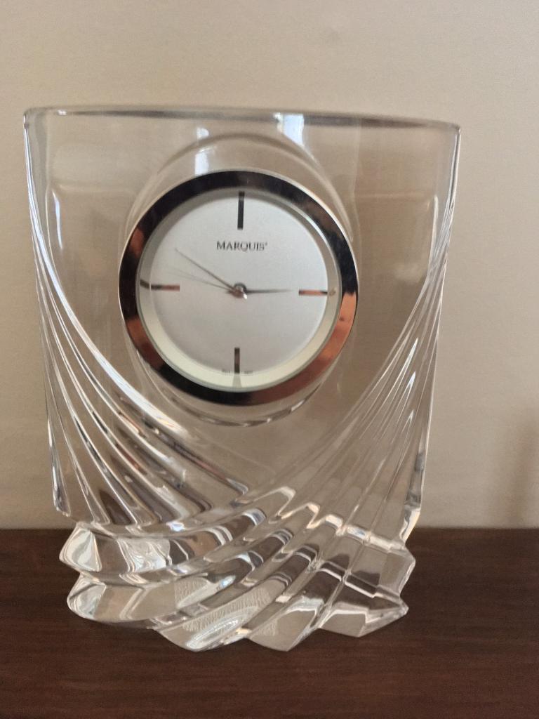 Crystal Mantle Clock In Preston Lancashire Gumtree
