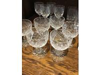 24pcs Georgian Crystal Glass Set