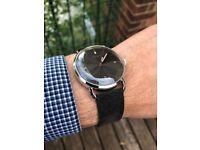 Vapaus Veli Watch (Swiss Made, rare, comparable to Oris Coltrane, Junghans Max Bill, Omega de Ville)