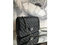 Chanel style caviar jumbo double flap bags(CLICK ON MY LISTINGS)