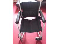 Z tec Lightweight folding wheelchair
