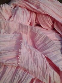 Pink fabric - over 20 metres