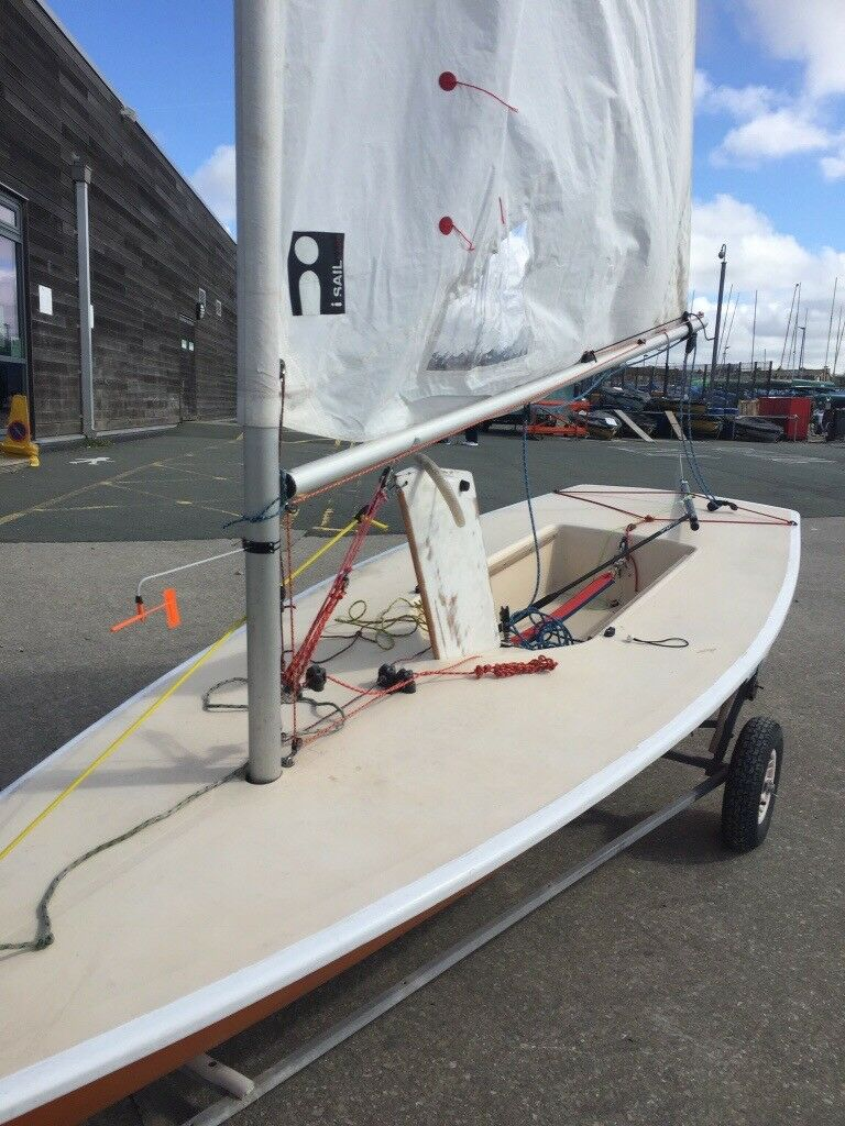 Laser one dinghy for sale with launch and road trailer | in Wirral,  Merseyside | Gumtree