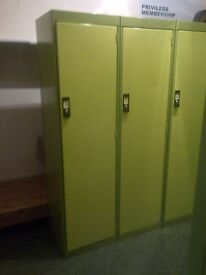 Available Eight Double Lockers
