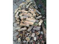 Brick rubble hardcore for use in patio FREE