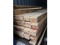 New timber shiplap cladding 13 ft long