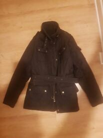 Womens size 16 genuine quilted navy Barbour jacket - perfect Christmas present