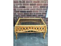 Lovely rattan Coffee table