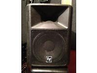 2 x EV SX300 Speakers * 300w output