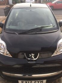 FOR SALE Peugeot 107 2012 plate