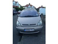 Citroen xsara Picasso priced low for a quick sale
