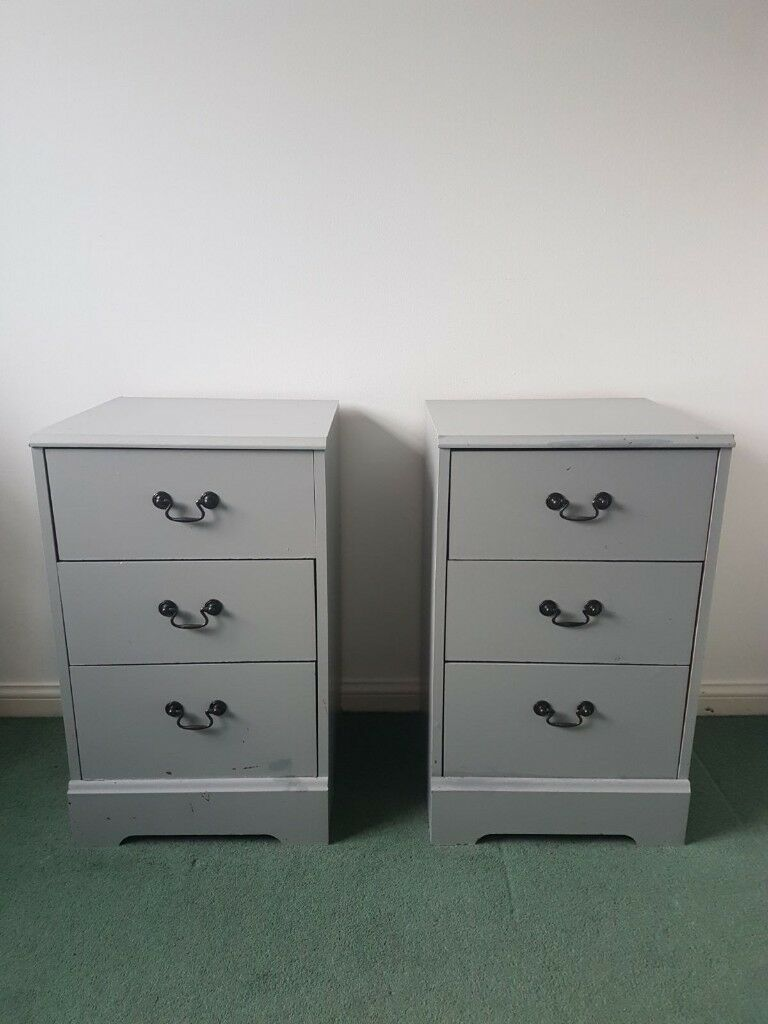 Grey Bedside Tables: In Chafford Hundred, Essex