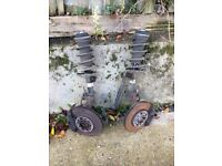 Astra h 2008 1.6 z16xer x1 suspension leg n/s or o/s 07594145438