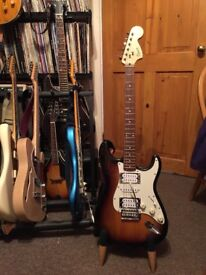 Squier Affinity Stratocaster HSH guitar.