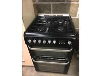 Hotpoint Ultima dual fuel cooker
