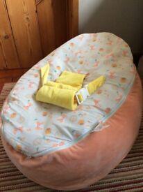 Woodland Baby Beanbag - Tutti Bambino