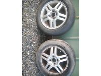 Ford focus alloys x2 , 15 inch