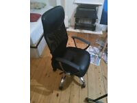 Study chair + computer desk. Great condition!!