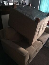 Used sofa bed and armchair!!!