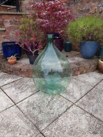 large glass floor bottle vase