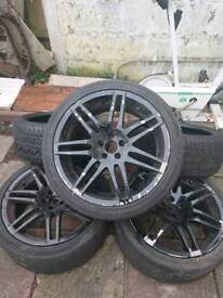 Wheels and spare tyres 18inch