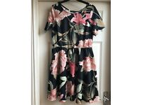 Floral Summer Dress size 16?