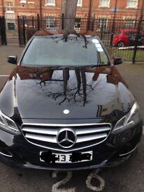 Mercedes Benz E class E220 PCO uber ready