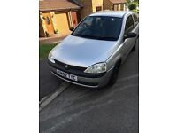 Vauxhall Corsa 1.2 petrol in silver