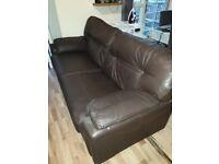 G-Plan 3 Seater Leather Sofa