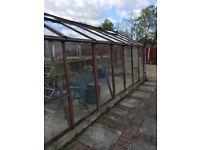 Alton Cedar Greenhouse 10ft x 18ft