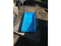 Rabbit / Guinea Pig Large Hutch / Cage