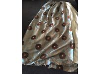 Curtains for sale 88in long x120in wide