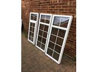 3x upvc double glazed windows 650 x 1460 or (1950 x 1460)