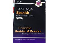 BRAND NEW SPANISH GCSE REVISION AND PRACTISE AQA